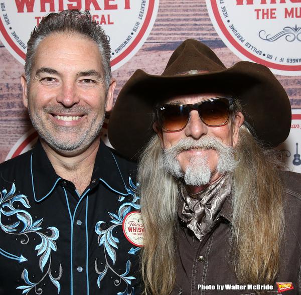 Dewey Moss with Dean Dillon  Photo