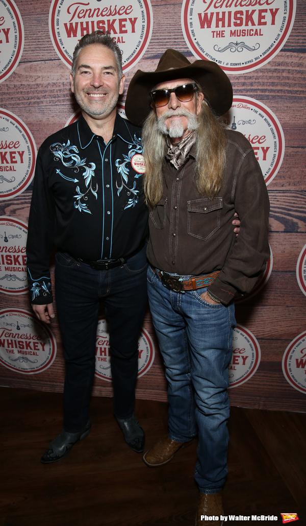 Dewey Moss with Dean Dillon