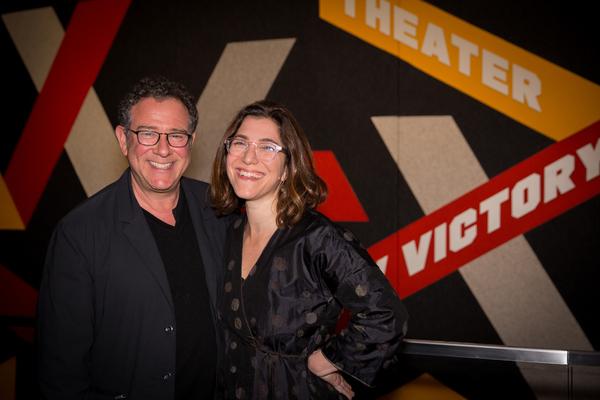 Michael Greif and Jenny Gersten