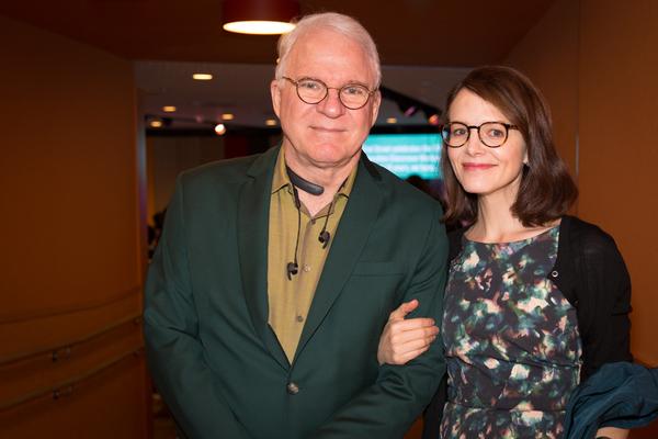 Steve Martin and Anne Stringfield Photo