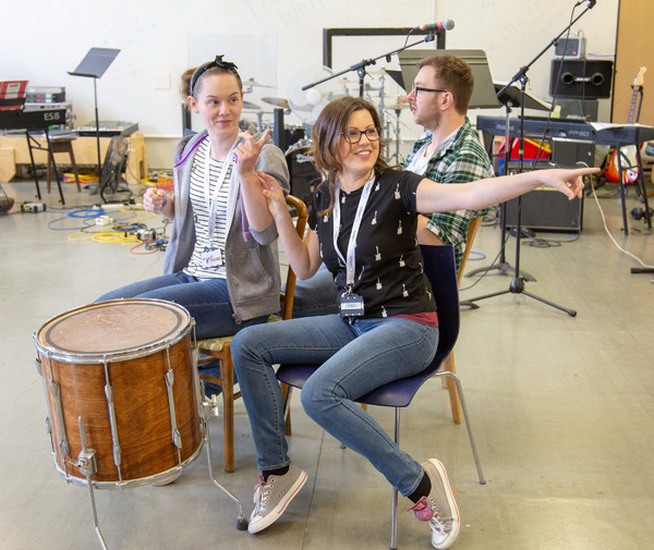 Photo Flash: In Rehearsal with Octagon Theatre Bolton's SUMMER HOLIDAY