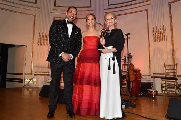Eduardo Vilaro, Kate Lear, and Carolina Herrera Photo