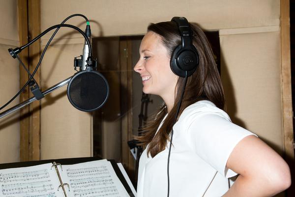 Photo Coverage: Patrick Wilson, Kelli O'Hara and More Head Into the Studio for the BRIGADOON Cast Recording