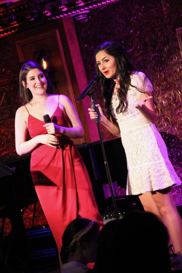 Kimberly Jenna Simon and Abby DePhillips