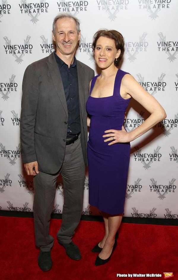 Richard Topol and Judy Kuhn