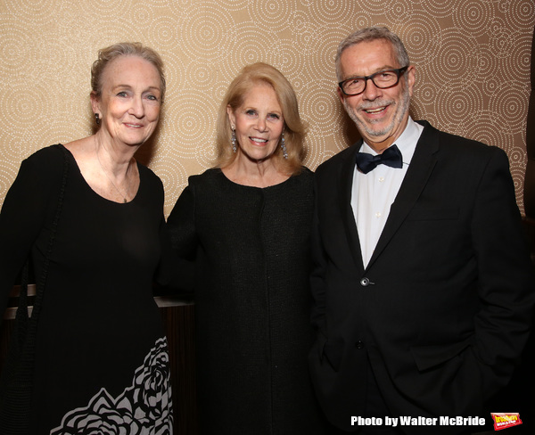 Kathleen Chalfant, Daryl Roth and Sam Rudy