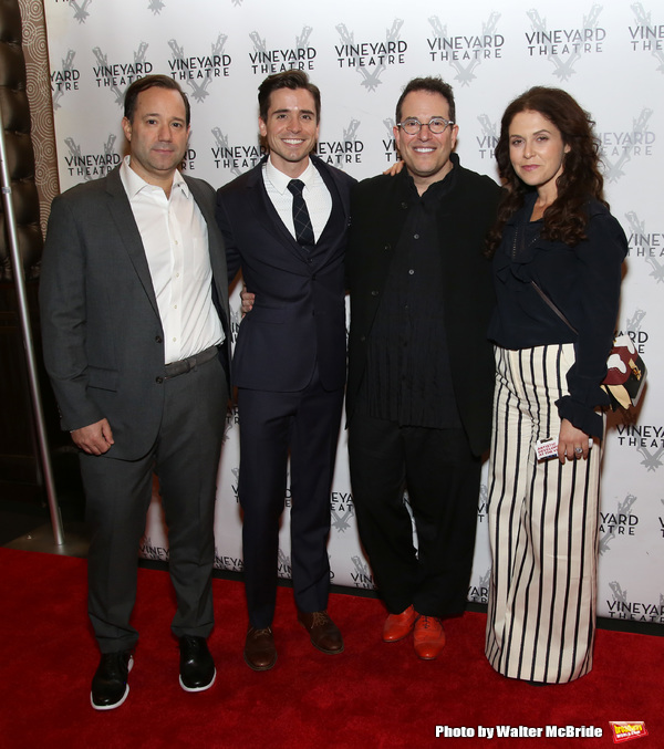 Greg Smith, Matt Doyle, Michael Mayer and Amanda Lipitz