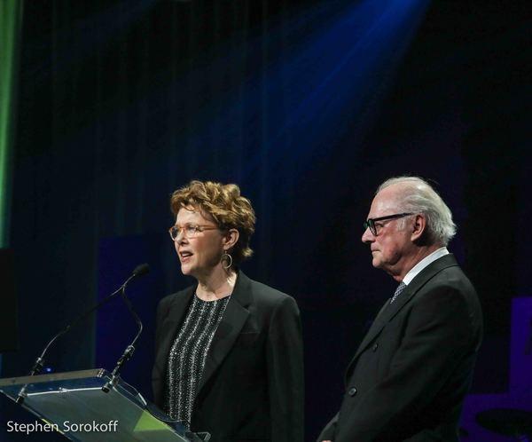 Annette Benning & Barry Levinson Photo