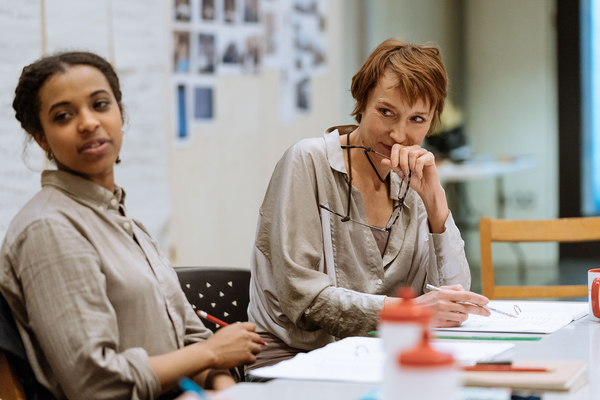 Photo Flash: First Look at Lia Williams in Rehearsals for THE PRIME OF MISS JEAN BRODIE at The Donmar Warehouse