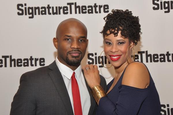 James Key & Dominique Morisseau(Playwright)