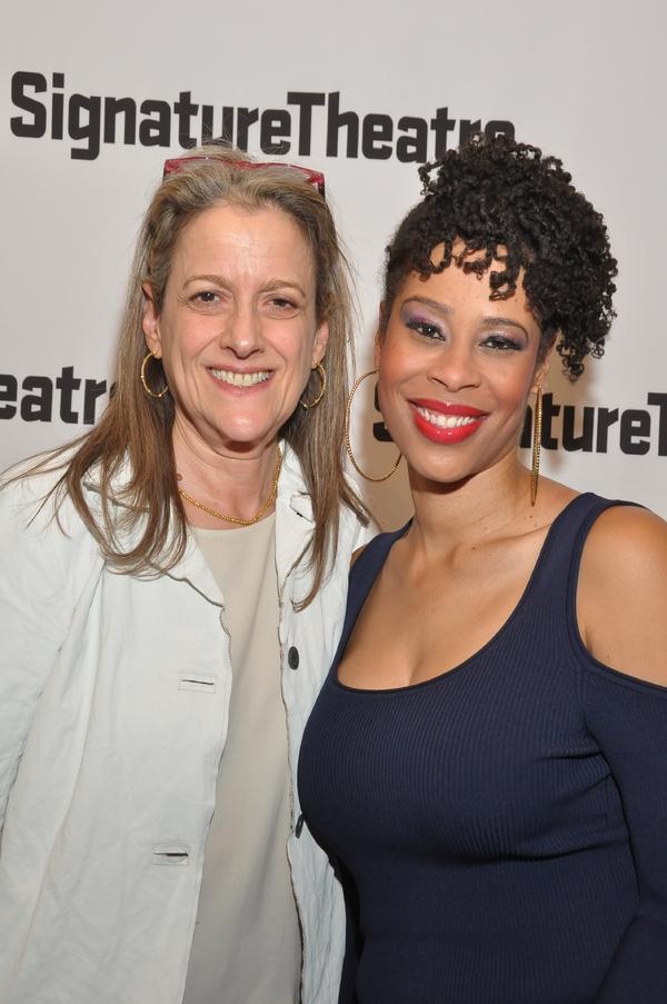 Guest & Dominique Morisseau(Playwright)