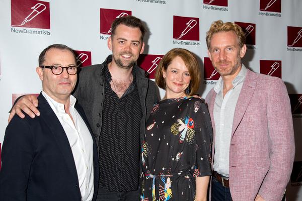 Colin Callender, Alex Price, Poppy Miller, Paul Thornley Photo