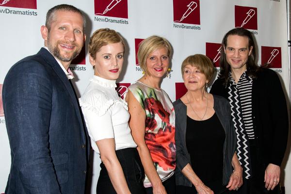 Tim Levy, Denise Gough, Marianne Elliot, Susan Brown, Jordan Roth Photo
