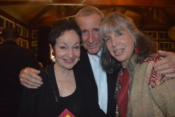 Lynn Ahrens, Jim Dale and his wife Julie Schafler