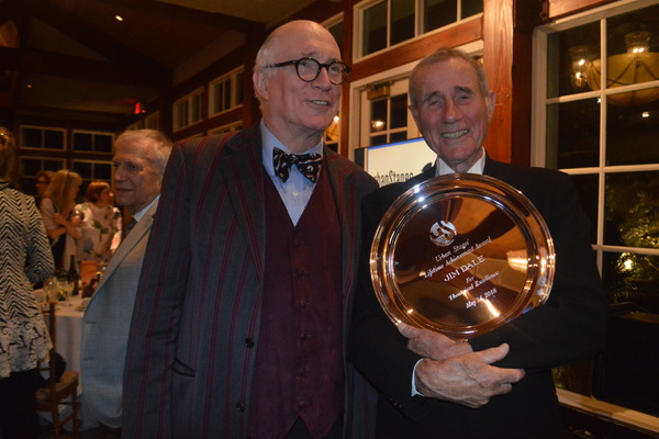 Photo Flash: Urban Stages Presents Jim Dale with Lifetime Achievement Award