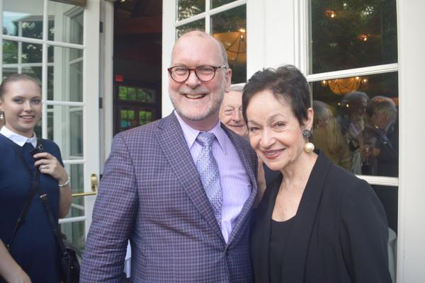 Tom Toce and Lynn Ahrens