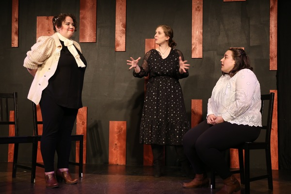 Emily Frederick, Holly Robinson, Robin Hellmann