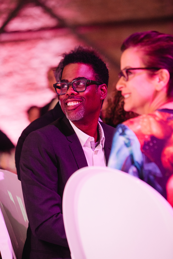Chris  Rock  and  Artistic  Anna  D.  Shapiro