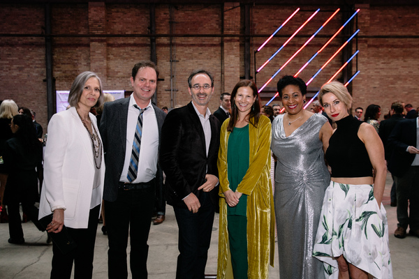 Amy  Morton,  Rainn  Wilson,   Eric  Lefkofsky,  Liz  Lefkofsky, Ora  Jones, Audrey   Photo