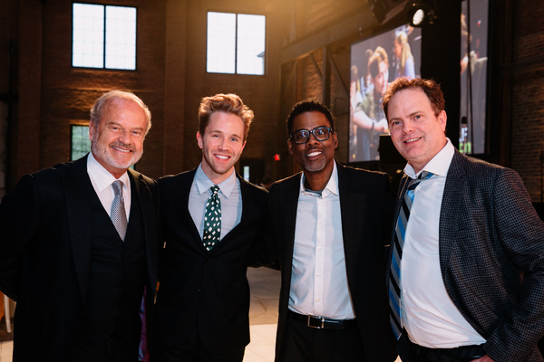 Kelsey  Grammer,  Christie's  Robbie  Gordy,  Chris  Rock  and  Rainn  Wilson