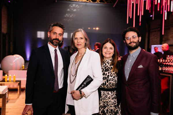 Omar  Metwally, Amy  Morton  and  Kathryn  Erbe,  Arian  Moayed  Photo