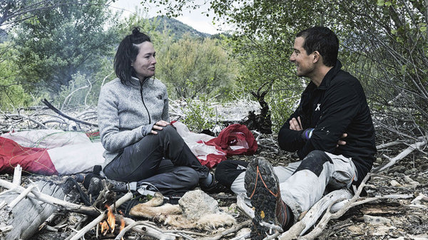 Photo Flash: GAME OF THRONES Star Lena Headey Joins Bear Grylls For RUNNING WILD