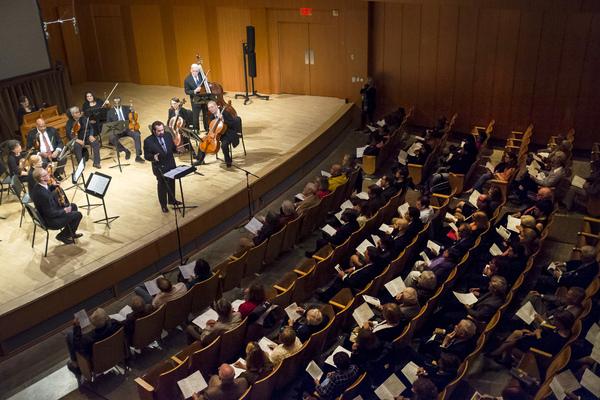 George Marriner Maull & Audience Photo