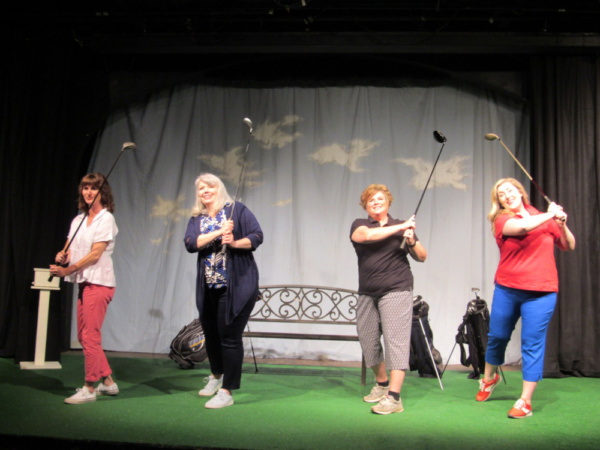 Photo Flash: Granite Theatre Stages THE LADIES FOURSOME