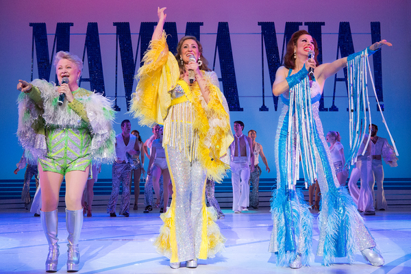 Photo Flash: First Look at the Super Troupers of Walnut Theatre's MAMMA MIA!
