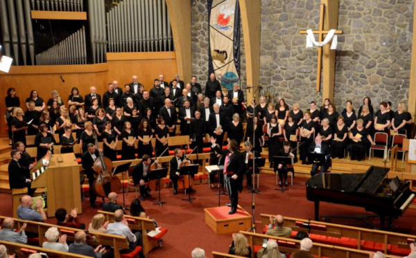 Photo Flash: Jason Tramm Conducts Faure's Requiem In Morris Choral Society's 45th Season Finale