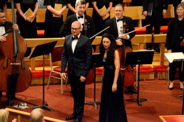 FAURE REQUEIEM VOCAL SOLOISTS JONATHAN SCOTT, BARITONE AND MAYA HOOVER MEZZO-SOPRANO Photo