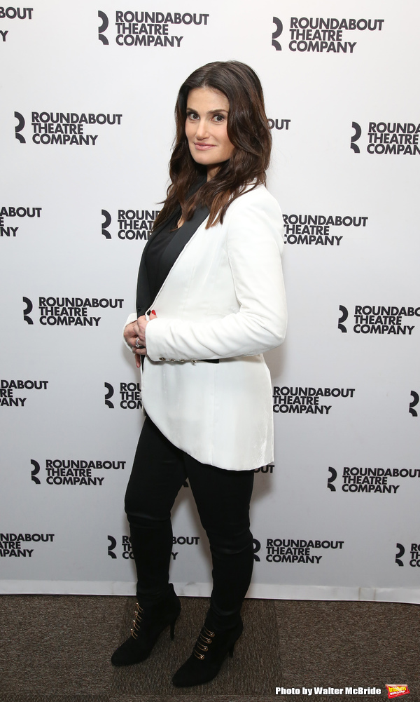 Photo Coverage: Idina Menzel and the Company SKINTIGHT Meet the Press!