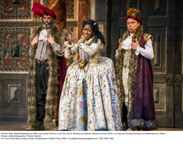 Photo Flash: First Look at AS YOU LIKE IT and HAMLET at Shakespeare's Globe