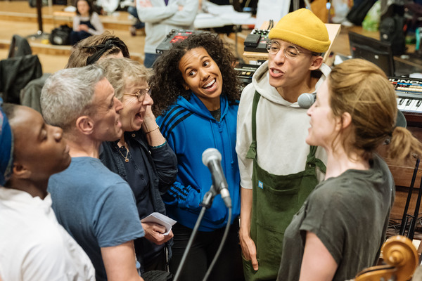 Photo Flash: In Rehearsal with the Old Vic's A MONSTER CALLS