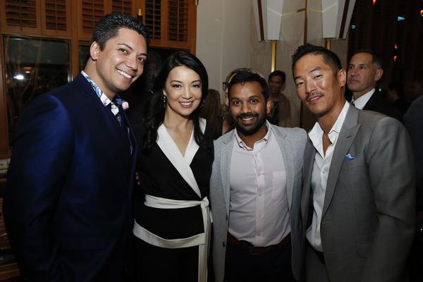 Jon Hoche, Ming-Na Wen, Snehal Desai and Leonardo Nam