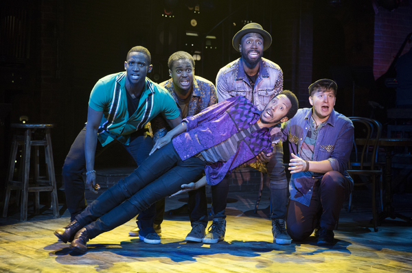 Photo Flash: First Look at Ogunquit's Off-Broadway Bound SMOKEY JOE'S CAFE
