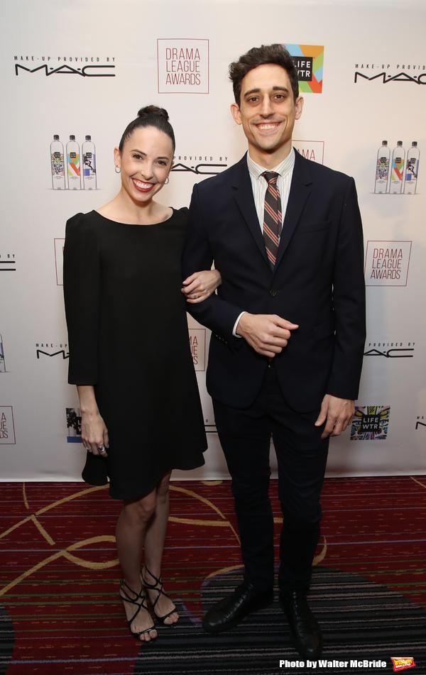 Patricia Delgado and Justin Peck