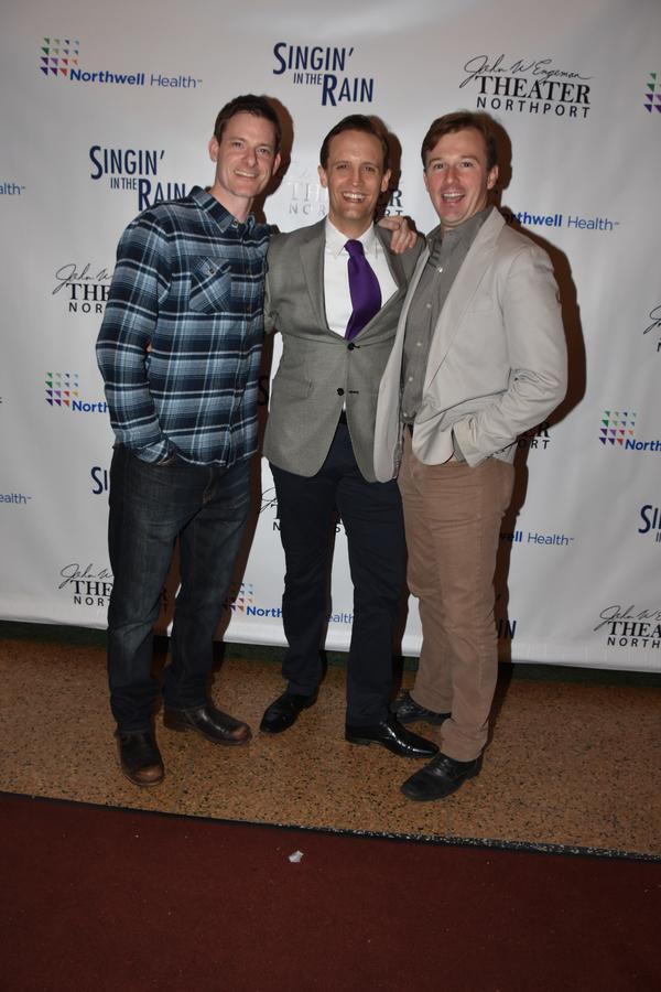 Brian Shepard, Danny Gardner and Drew Humphrey