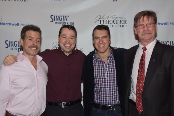 Ben Prayz, Michael Santora, Peter Surace and Leer Leary Photo