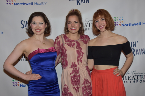 Lily Lewis, Claire Logan and Corinne Munsch