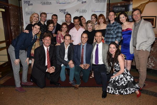 The Cast of Singin' In The Rain that includes-Danielle Aliotta, Emily Blake Anderson, Photo