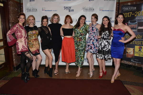 The Ladies of the cast-Claire Logan, Emily Blake Anderson, Tessa Grady, Emily Stockdale, Corinne Munsch, Britte Steele, Emilie Renier, Danielle Aliotta and Lily Lewis