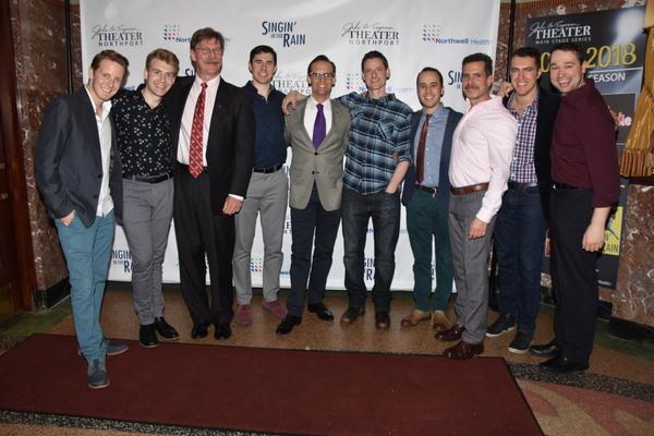 The Gentlemen of the cast-Daniel Plimpton, Andrew Metzgar, Leer Leary, Bryan Thomas Hunt, Danny Gardner, Brian Shepard, Michael Verre, Ben Prayz, Peter Surace and Michael Santora