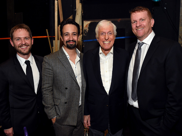 Matt Shakman, Lin-Manuel Miranda, Dick Van Dyke and Gil Cates Jr.