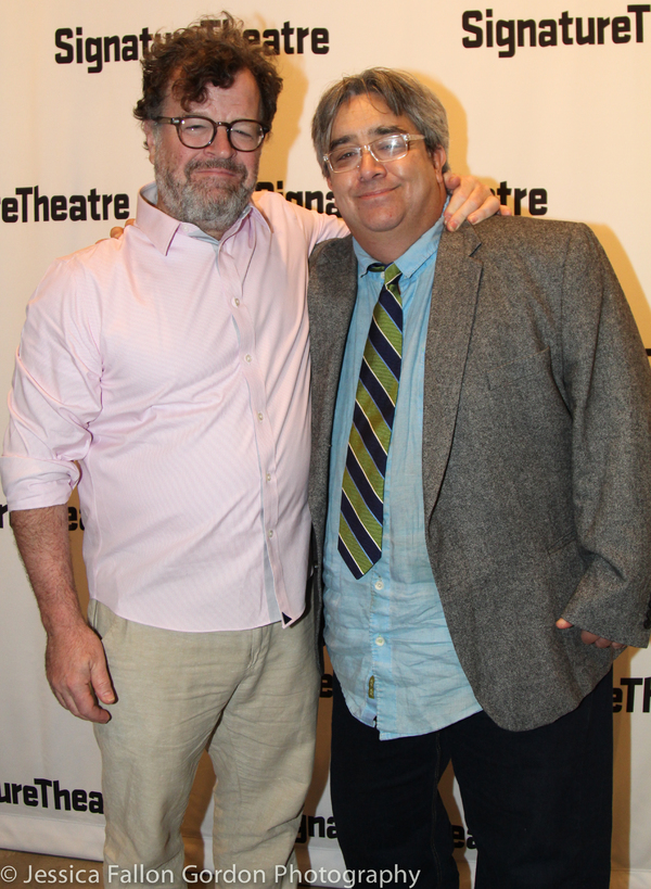 Kenneth Lonergan and Stephen Adly Guirgis Photo