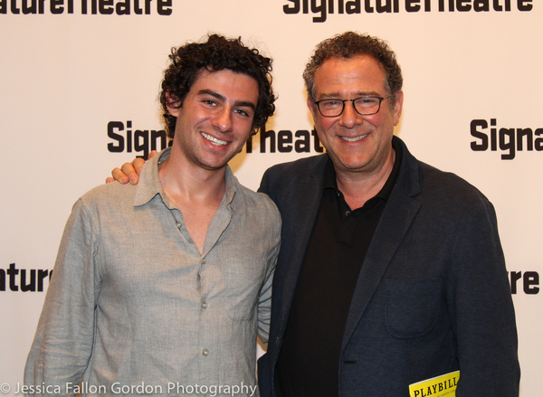 Michael Greif and son