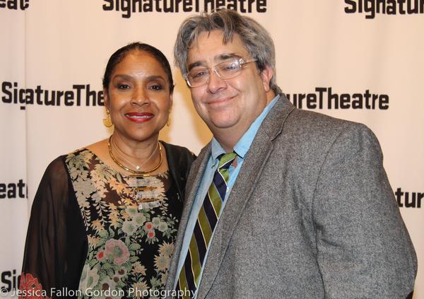 Phylicia Rashad and Stephen Adly Guirgis