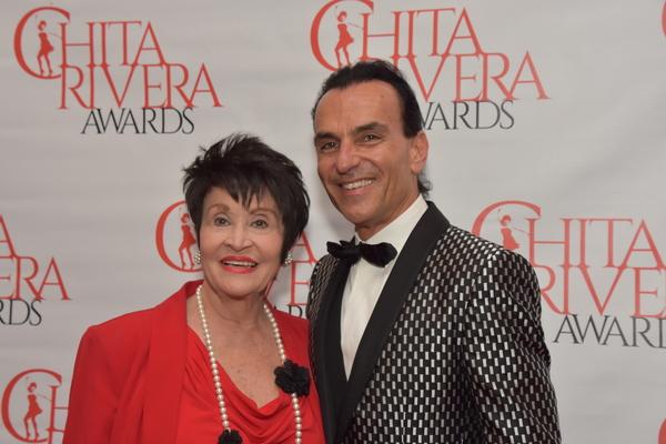 Chita Rivera and Joe Lanteri