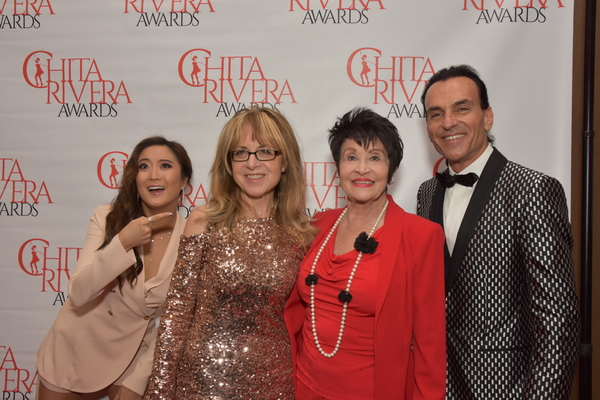 Ashley Park, Nikki Feirt Atkins, Chita Rivera and Joe Lanteri Photo