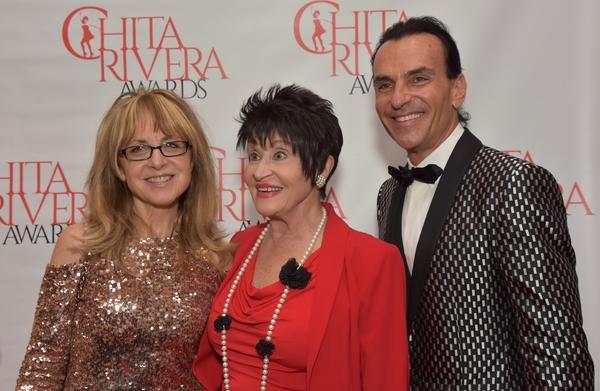 Nikki Feirt Atkins, Chita Rivera and Joe Lanteri